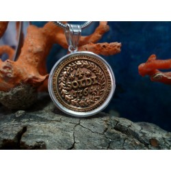 Pendentif monnaie Corse